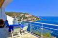 immo roses: villa 140 m² avec terrasse vue mer imprenable, terrain 320 m², garage et parking extérieur