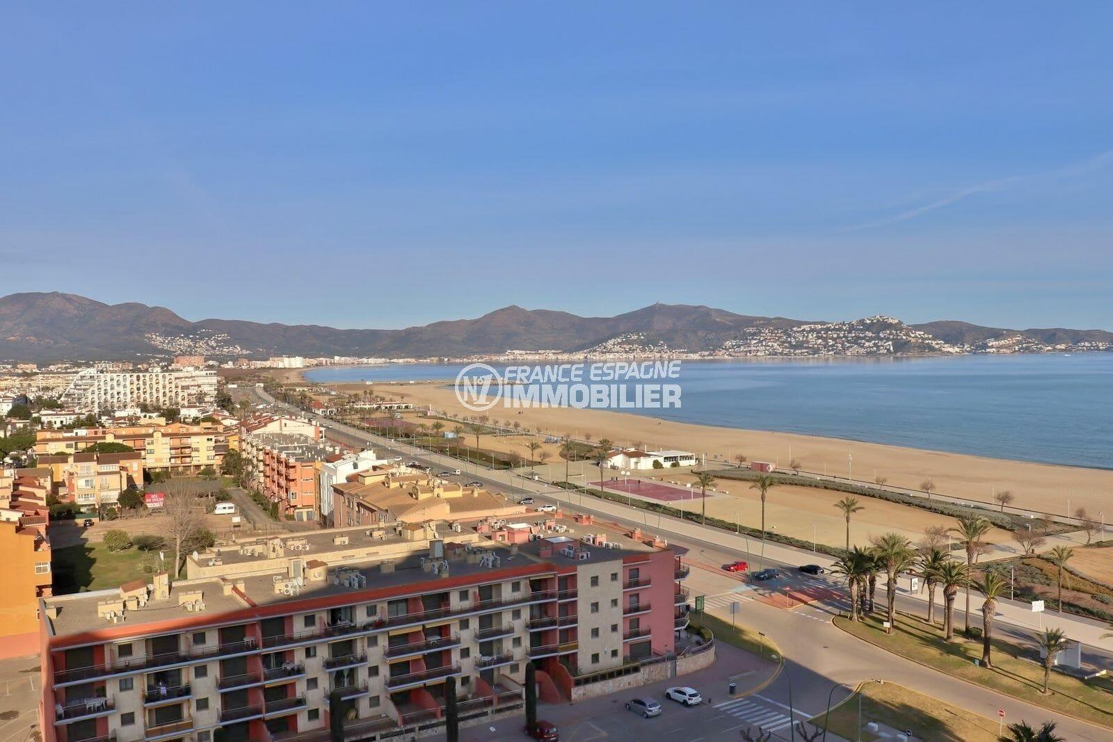 vente appartement empuriabrava, 26 m², terrasse vue mer, plage et commerces à 100 m