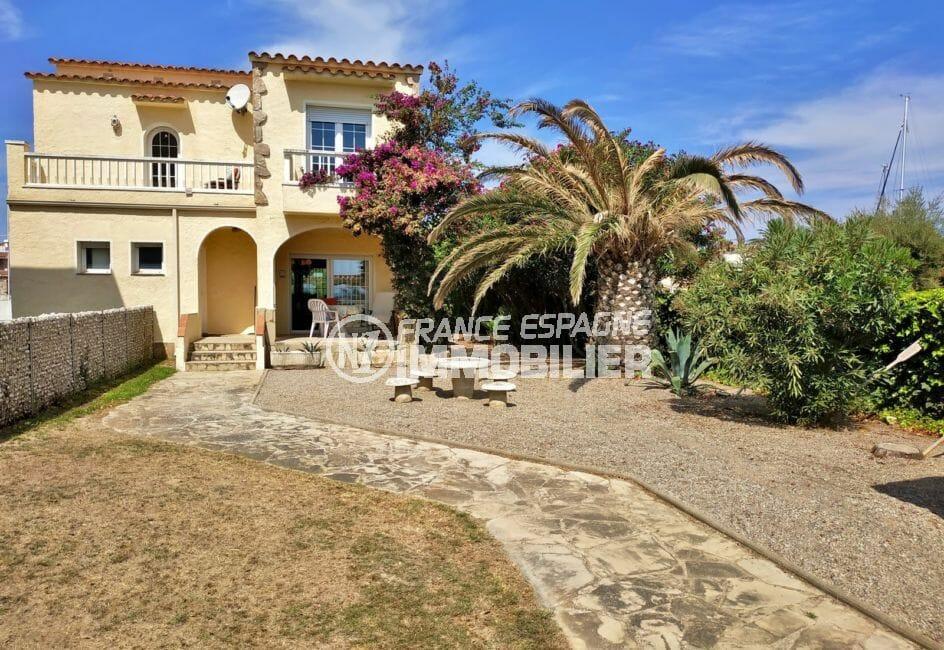 vente maison empuriabrava, villa 200 m² sur terrain de 571 m², vue mer