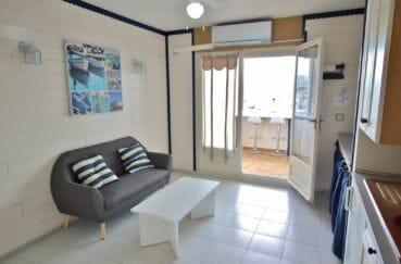 achat appartement empuriabrava, terrasse vérande de 6 m², vue canal