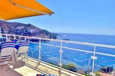 maison a vendre espagne, 140 m², terrasse avec barbecue vue sur la mer