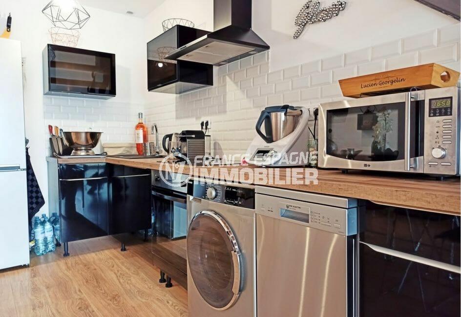 amarres empuriabrava: villa 96 m², cuisine ouverte aménagée et équipée