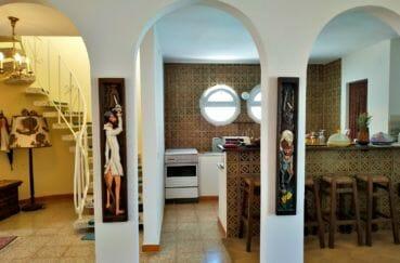 vente maison empuriabrava avec amarre, 200 m², cuisine américaine aménagée