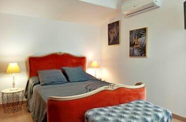 maison a vendre empuria brava, 96 m² vue canal, 2° chambre à coucher avec climatisation