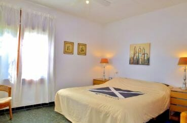 achat maison rosas, 140 m², première chambre double lumineuse