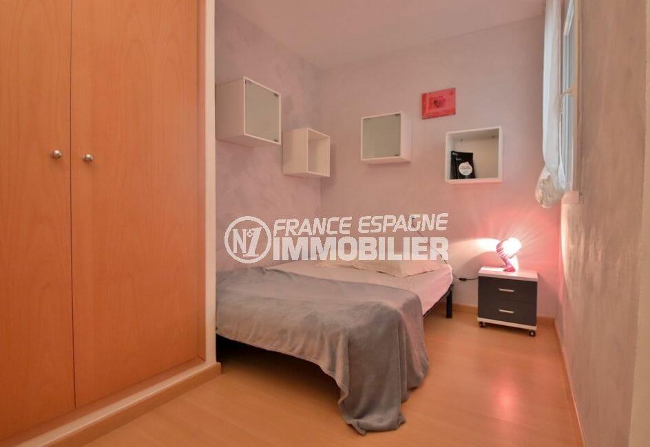 achat appartement rosas espagne, 2° chambre à coucher, armoire / penderie