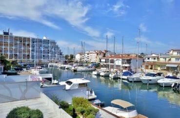 vente immobiliere costa brava: villa 200 m² avec amarre, superbe vue sur la marina
