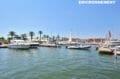 la marina d'empuriabrava avec ses bateaux