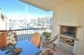 vente appartement empuriabrava, 97 m² avec deux terrasses vue mer, exposition sud/est, parking privé