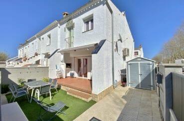 maison a vendre empuriabrava, 3 pièces 48 m² avec terrain de 75 m², piscine communautaire, proche plage