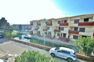 appartement empuriabrava, 2 pièces 39 m² dans petite résidence, vue canal