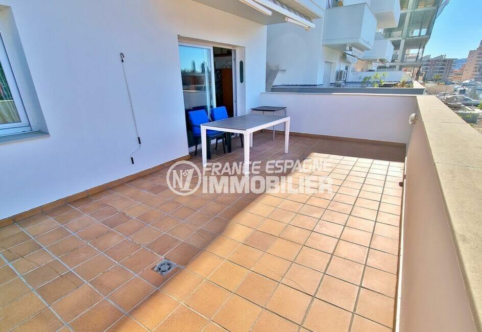 santa margarita, 4 pièces 69 m², grande terrase accès séjour