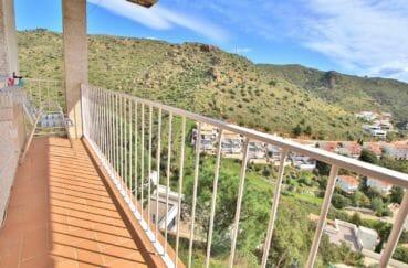 achat maison costa brava, 4 pièces 100 m², grand balcon, exposition sud/est
