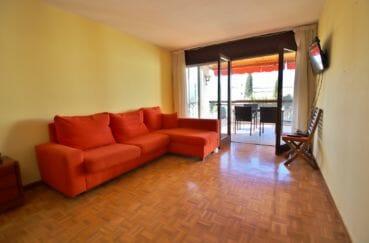 appartement a vendre costa brava, 5 pièces 108 m², salon avec terrasse, vue mer