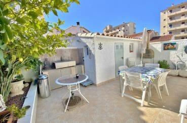 achat immobilier roses: villa 70 m², belle terrasse avec barbecue