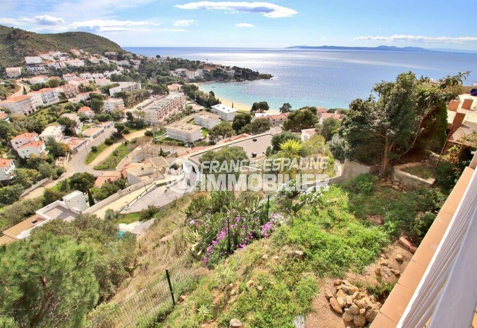 vente immobilier rosas espagne: villa 4 pièces 100 m², vue exceptionnelle sur mer