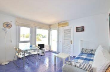 acheter appartement rosas, 32 m² grande terrasse sur le salon / séjour