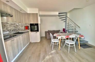 vente maison empuriabrava, 3 pièces 48 m², cuisine ouverte aménagée et équipée