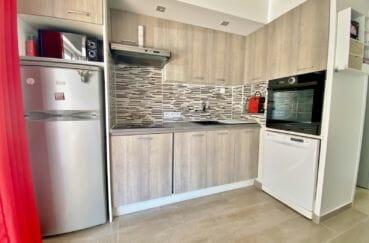 achat maison costa brava, 3 pièces 48 m², cuisine équipée, four, plaques, hotte
