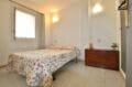 appartement a vendre a rosas, 43 m², chambre à coucher avec applique murale