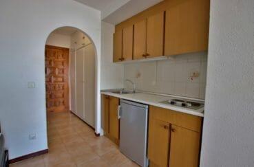 appartements a vendre a rosas, 28 m², hall d'entrée avec armoire / penderie encastrée