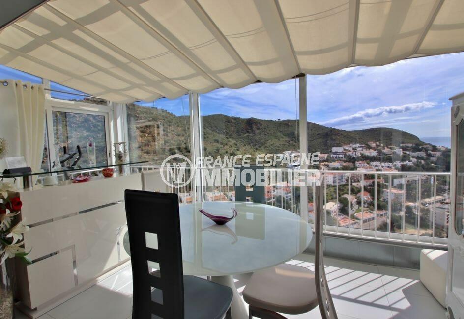 achat maison espagne costa brava, 4 pièces 100 m², véranda aménagée, vue mer