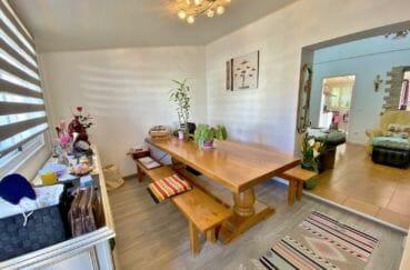 vente immobilier rosas espagne: villa 70 m², salle à manger ouverte sur le salon
