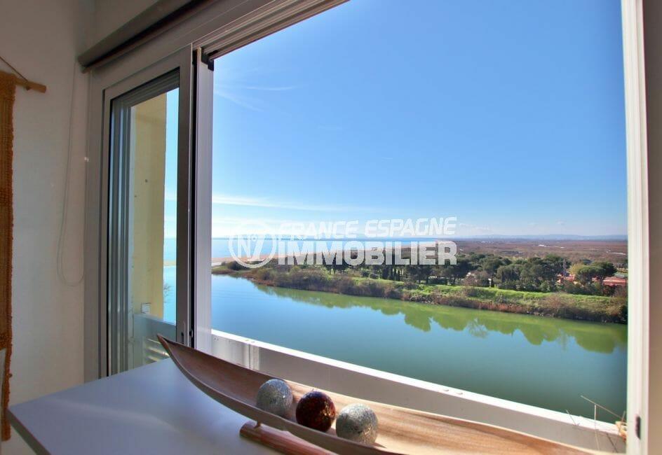 appartement a vendre a empuriabrava, 27 m² avec magnifique vue mer