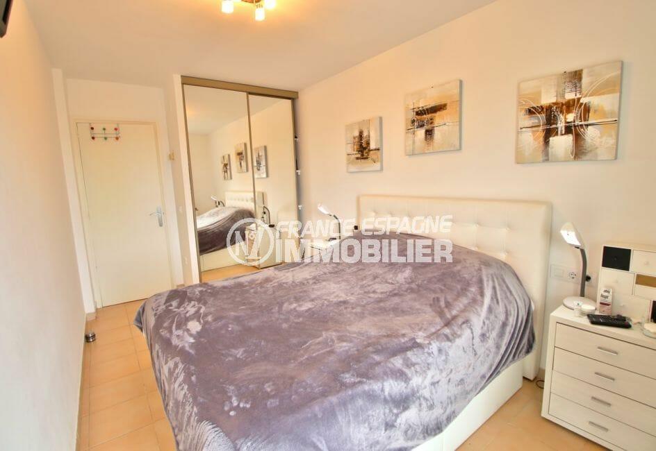 appartement à vendre à rosas espagne, 4 pièces 88 m², 1° chambre avec armoire encastrée