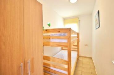 achat appartement costa brava, 4 pièces 69 m², 3° chambre à coucher, lits superposés