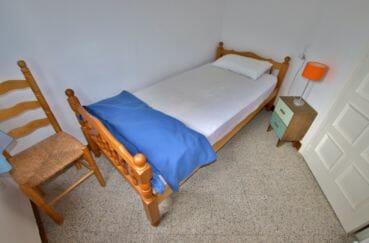 agence immobilière costa brava: appartement 72 m², 3° chambre avec lit simple