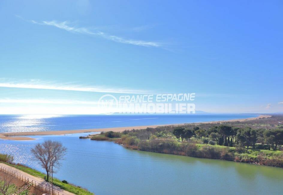 la costa brava: studio 27 m², exposition sud-ouest avec une vue sur la mer