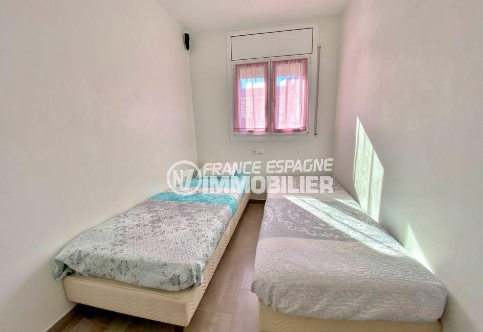 achat maison empuriabrava,  3 pièces 48 m², 2° chambre à coucher, 2 lits simples