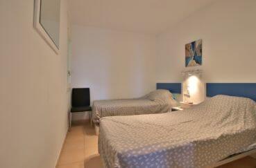 acheter appartement costa brava, 4 pièces 88 m², 2° chambre avec 2 lits simples
