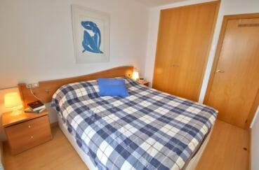 agence immobilière costa brava: appartement 98 m², 1° chambre, armoire encastrée