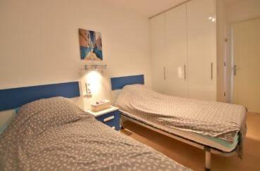 achat appartement costa brava, 2° chambre à coucher avec armoire encastrée