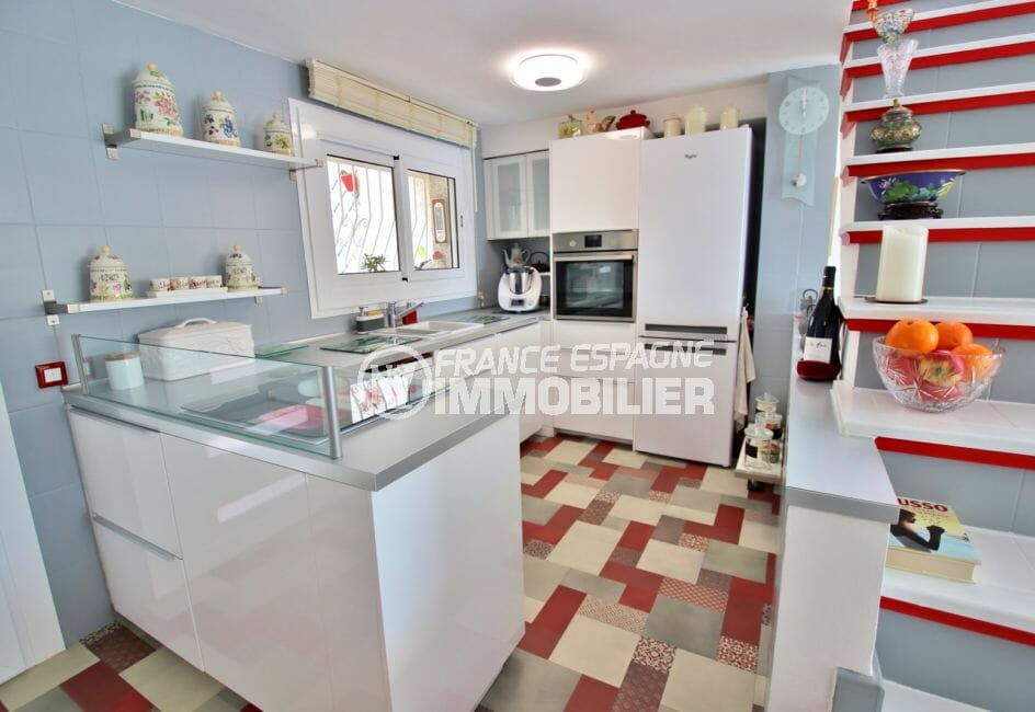 achat maison rosas espagne, 4 pièces 100 m², cuisine américaine équipée