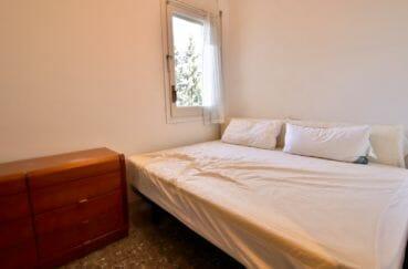 achat appartement costa brava, 5 pièces 108 m², 4° chambre à coucher, lit double
