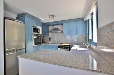 maison a vendre espagne bord de mer, 255 m², cuisine ouverte, aménagée et équipée