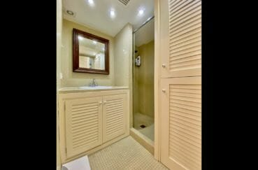 achat appartement empuriabrava, 69 m², salle d'eau, douche avec porte vitrée