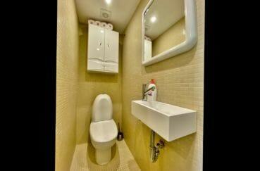 empuriabrava appartement à vendre, 69 m², wc indépendant avec lavabo