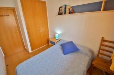 vente appartement rosas espagne, 98 m², 2° chambre avec armoire encastrée