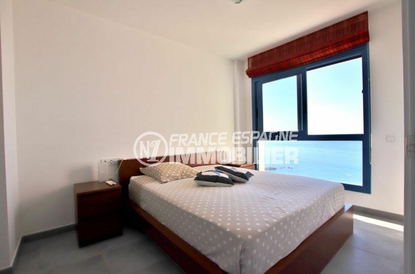 vente immobiliere espagne rosas: villa 255 m², chambre avec prise murale, intérrupteur