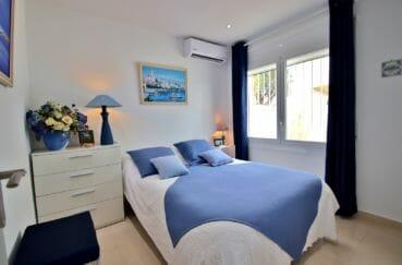 vente villa rosas, 76 m², 2° chambre à coucher avec climatisation, lit double