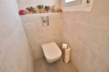 la costa brava: appartement 3 chambres 74 m², avec toilettes séparées