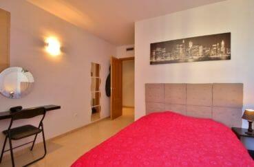 vente immobilier costa brava: appartement 97 m², chambre à coucher avec climatisation