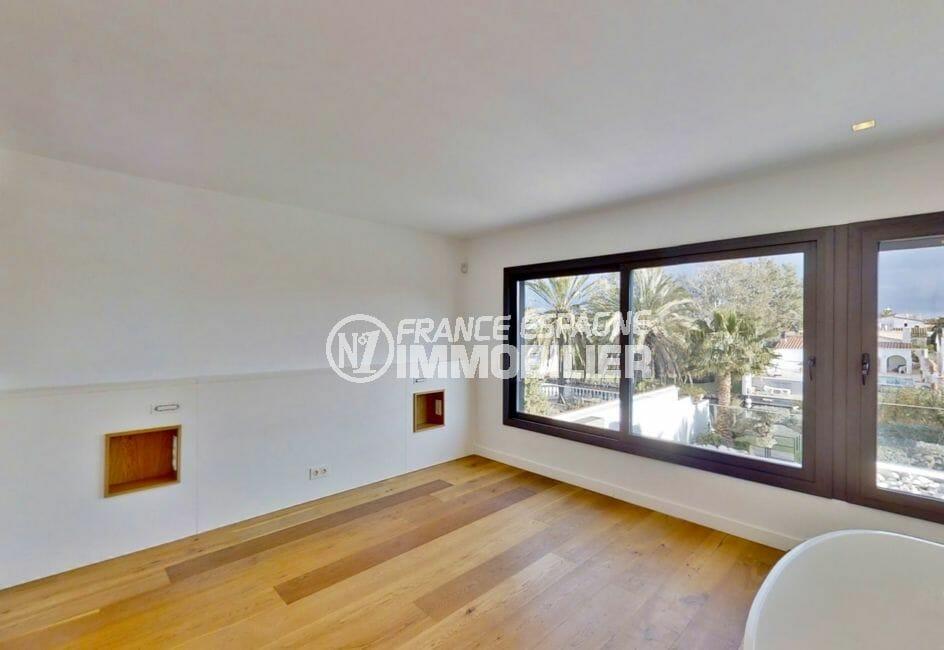agence empuriabrava: villa 235 m², chambre à coucher, exposition sud / est