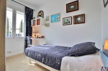 achat immobilier roses: villa 76 m², 3° chambre à coucher, lit simple, bureau