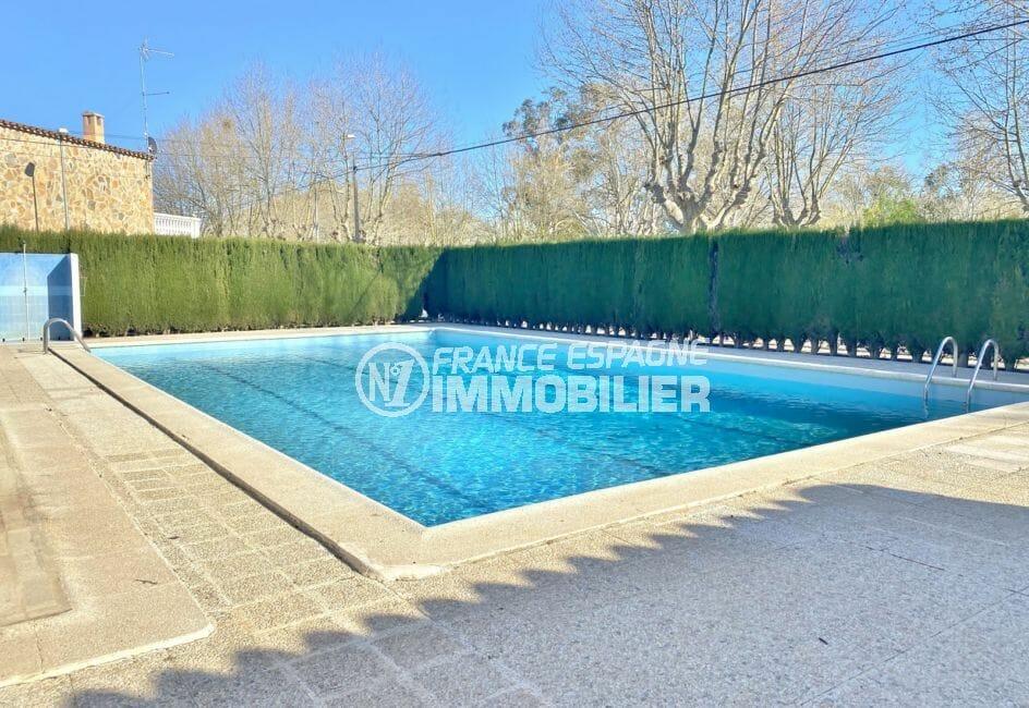acheter maison costa brava, 3 pièces 48 m², piscine communautaire avec douche