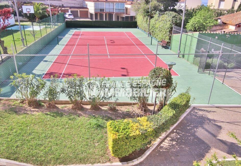 immo center rosas: appartement 5 pièces 108 m², terrain de tennis communautaire